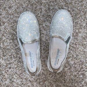 Sketchers street sparkle- double up shiny dancer